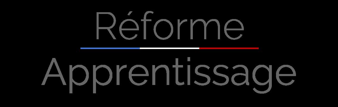 Réforme de l'apprentissage 2018 - 2019